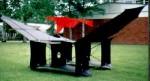Cody Warkite 50er Zelle, schwarz mit rotem Topsegel