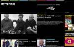 Webseite Motor FM