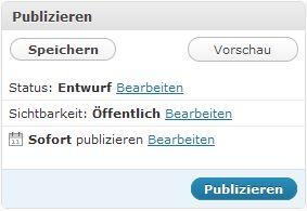 "Screenshot Menü ""Publizieren"""
